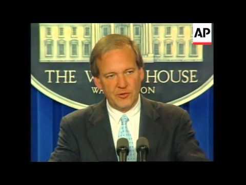 USA: WASHINGTON: REACTION TO NEWS OF KOREAN AIRLINER CRASH IN GUAM