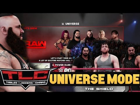 """WWE 2K18 Universe Mode EP1 """"THE SHIELD Reunion"""" - Tables, Ladders, Chairs PPV (Episode 1)"""