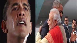 आखिरी स्पीच में MODI का नाम लेकर भावुक हो पड़े Obama, बोले मोदी जैसा कोई नहीं...Obama had emontional