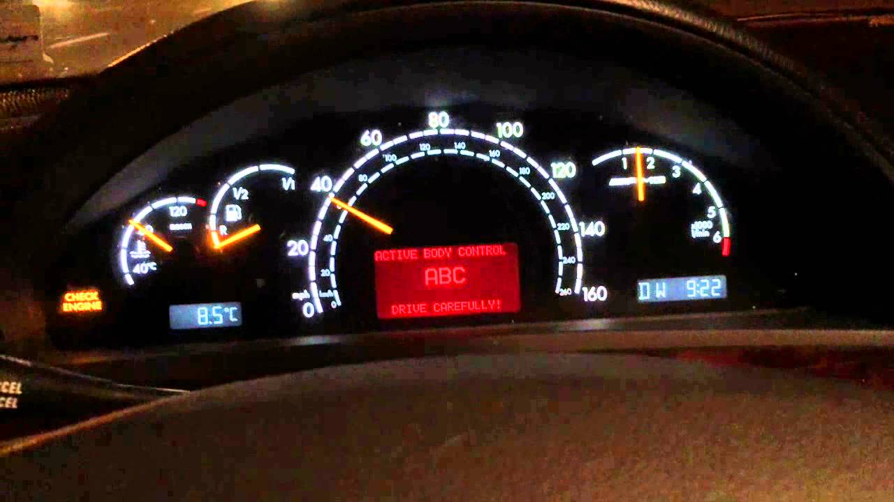 2002 mercedes s55 amg check engine light slow to for Mercedes benz ml350 check engine light on