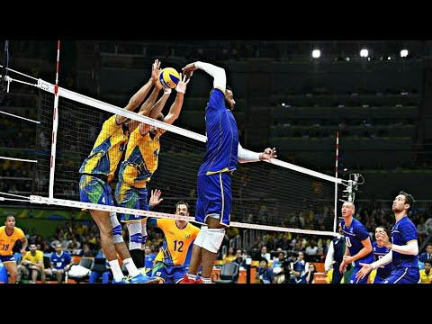 Amazing Volleyball Actions  Epic Moments