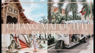 CHIANG MAI OUTFIT DIARIES // What I Did, Wore & Ate in Thailand!  // Fashion Mumblr