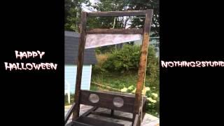 Double Guillotine Halloween Prop - Woodworking Project DIY