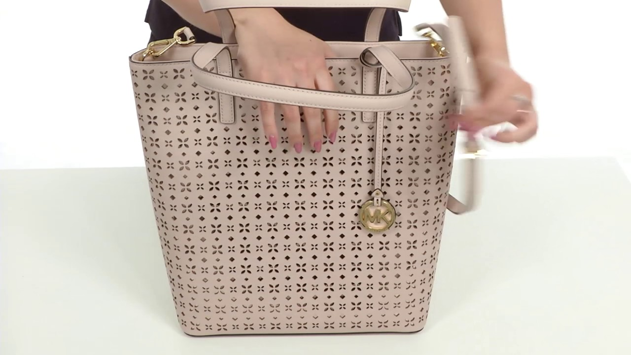 768f6db55ce4 MICHAEL Michael Kors Hayley Large North South Top Zip Tote SKU 8903008