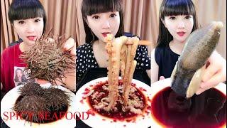 Super Spicy Chinese Food - Chinese Food Profession - Tik Tok Chinese - 農村吃貨消滅媽媽秘製火鍋串串香 #2