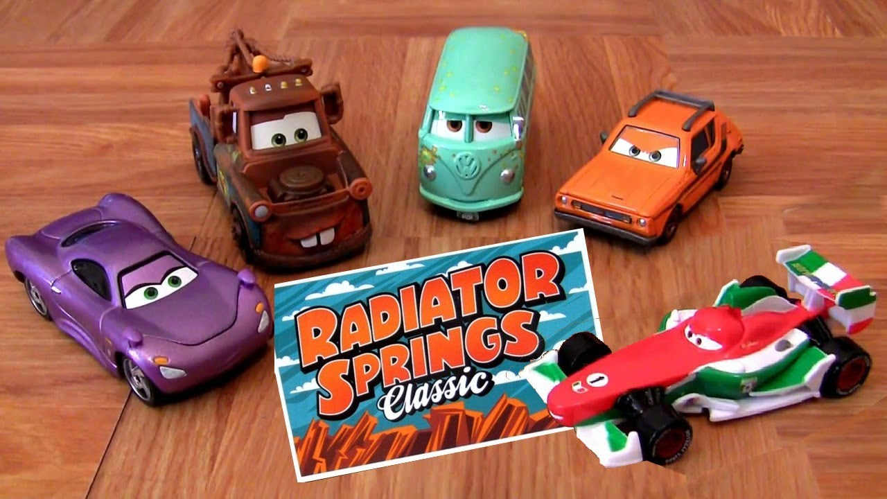 Cars 2 Race Team Fillmore And Mater Youtube