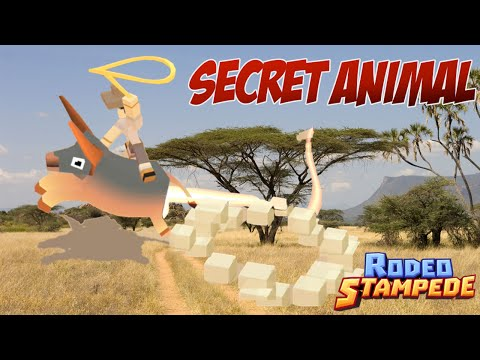 Rodeo Stampede - SECRET ANIMAL FOUND! - Lion Challenge Walkthrough