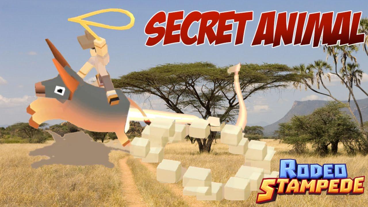Rodeo Stampede Secret Animal Found Lion Challenge
