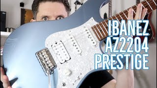 Ibanez AZ2204 Prestige Guitar Review: Shots Fired at Suhr. Did they Connect?