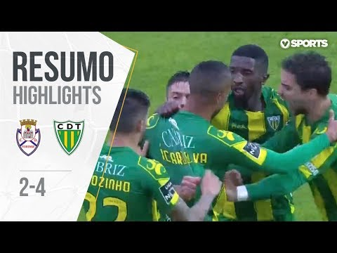 Highlights | Resumo: Feirense 2-4 Tondela (Liga 18/19 #9)