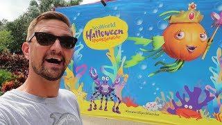 Celebrating Halloween At Seaworld Spooktacular & An Infinity Falls Construction Update!