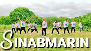 Cover images SINABMARIN by: Andrew E | OPM | (Remix) | Dance Fitness By team baklosh