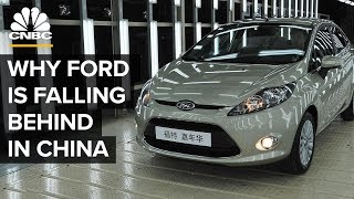 Why Ford Is Falling Behind In China