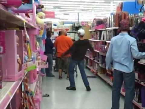 Bernie at Walmart