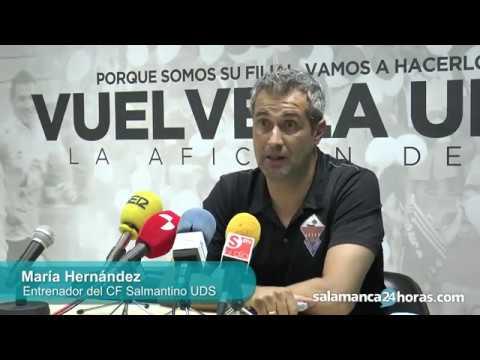 Rueda de prensa tras el CF Salmantino UDS - La Bañeza