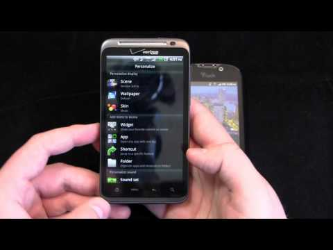 HTC ThunderBolt vs. T-Mobile myTouch 4G Dogfight Part 1