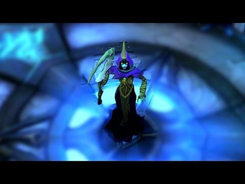 Reaper Soraka Model Color Change - League of Legends