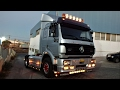 Mercedes SK 1850 V8 with strong sound - Powered by Giotis Sakis