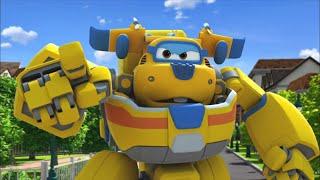 Супер Крылья: Джетт и его друзья - Сбежавший Рекс - Робот-динозавр VS самолет-трансформер - Серия 29