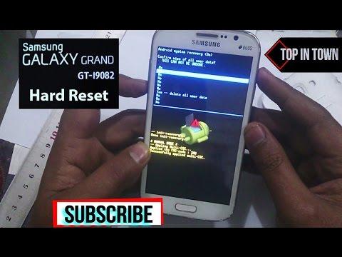 Samsung GALAXY GRAND GT I9082 Hard Reset