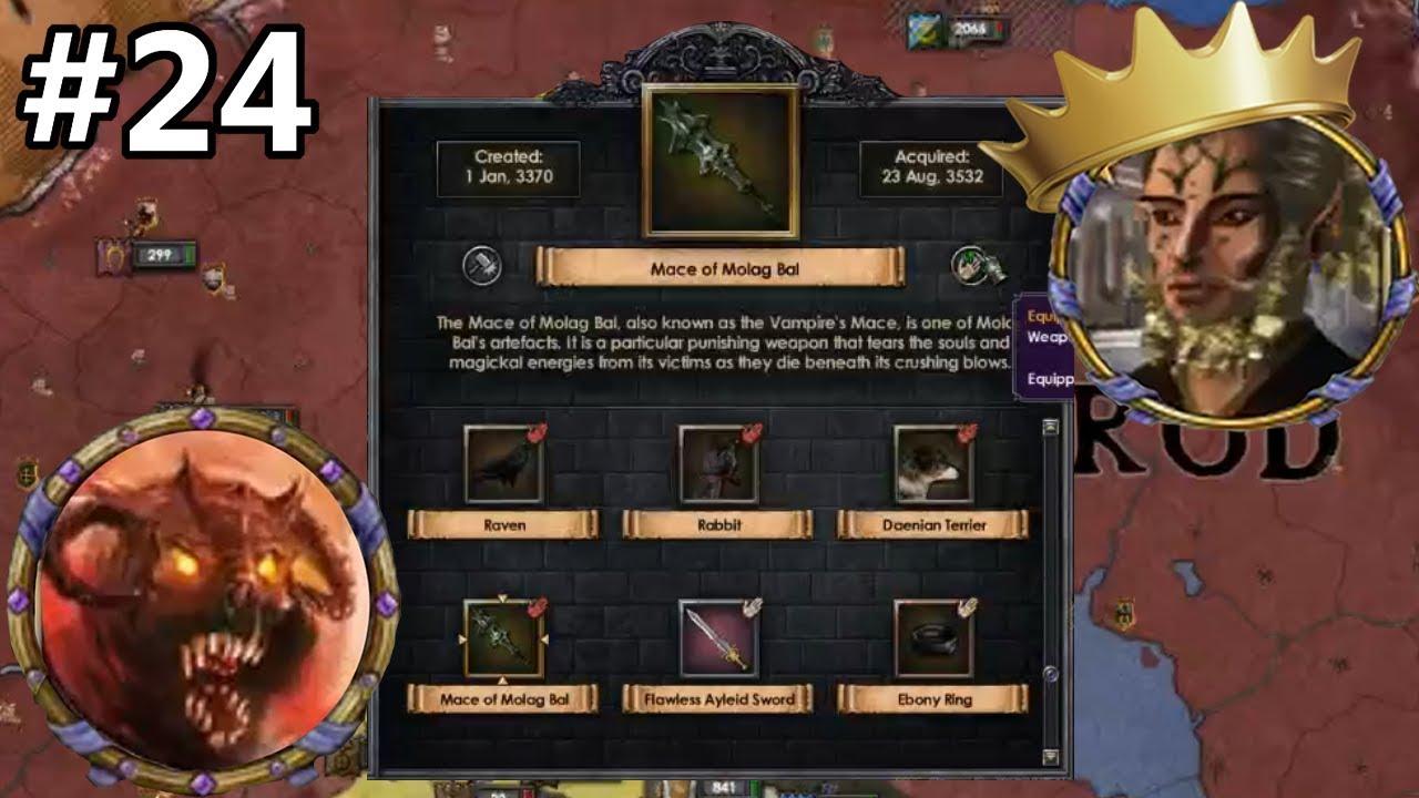 Elder Kings Mod #24 - Crusader Kings 2 - Daedric Artifact Collector