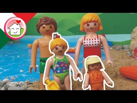 Playmobil film italiano al mare famiglia hauser youtube
