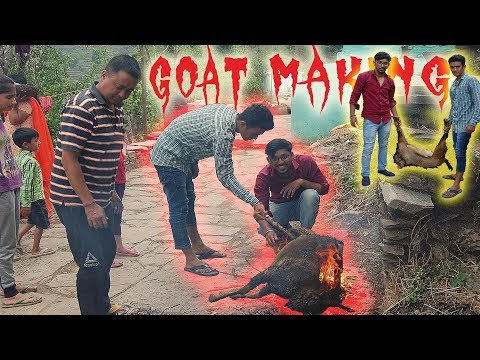TRADITIONAL GOAT MAKING IN GARHWAL UTTARAKHAND | Mr.Pahadi