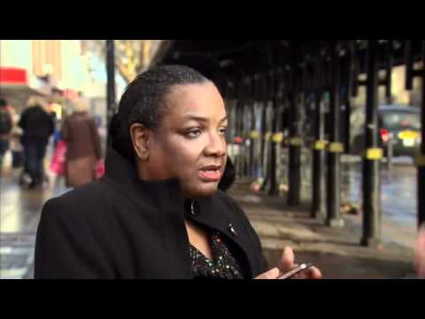 Diane Abbott - The Labour Party's black, anti-White, Racist MP