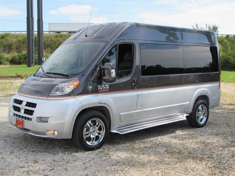 2014 Ram Promaster Commercial / Conversion Van Start Up, Test Drive, and In Depth Review