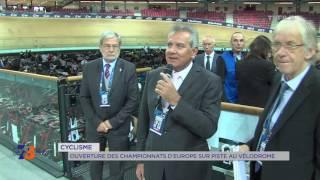 Cyclisme : ouverture des championnats d'Europe sur piste au Vélodrome