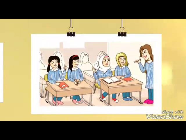 قريتنا نظيفة الدرس الرابع للصف الثالث صوت الطالبة هبة عبدو إعداد المعلمة منال مطر مدرسة القاهرةب