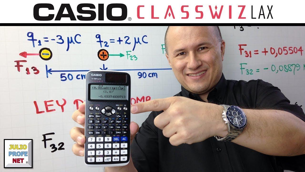 Download EJERCICIO 1 DE ELECTROSTÁTICA - ft. Casio Classwiz