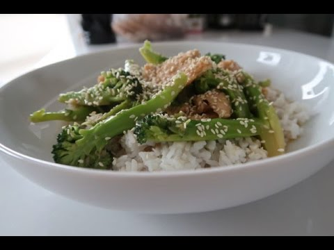 Kuchnia Chińska Kurczak Z Brokułami