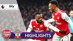 96. Minute! Lacazette rettet Arsenal | FC Arsenal - FC Southampton 2:2 | Highlights