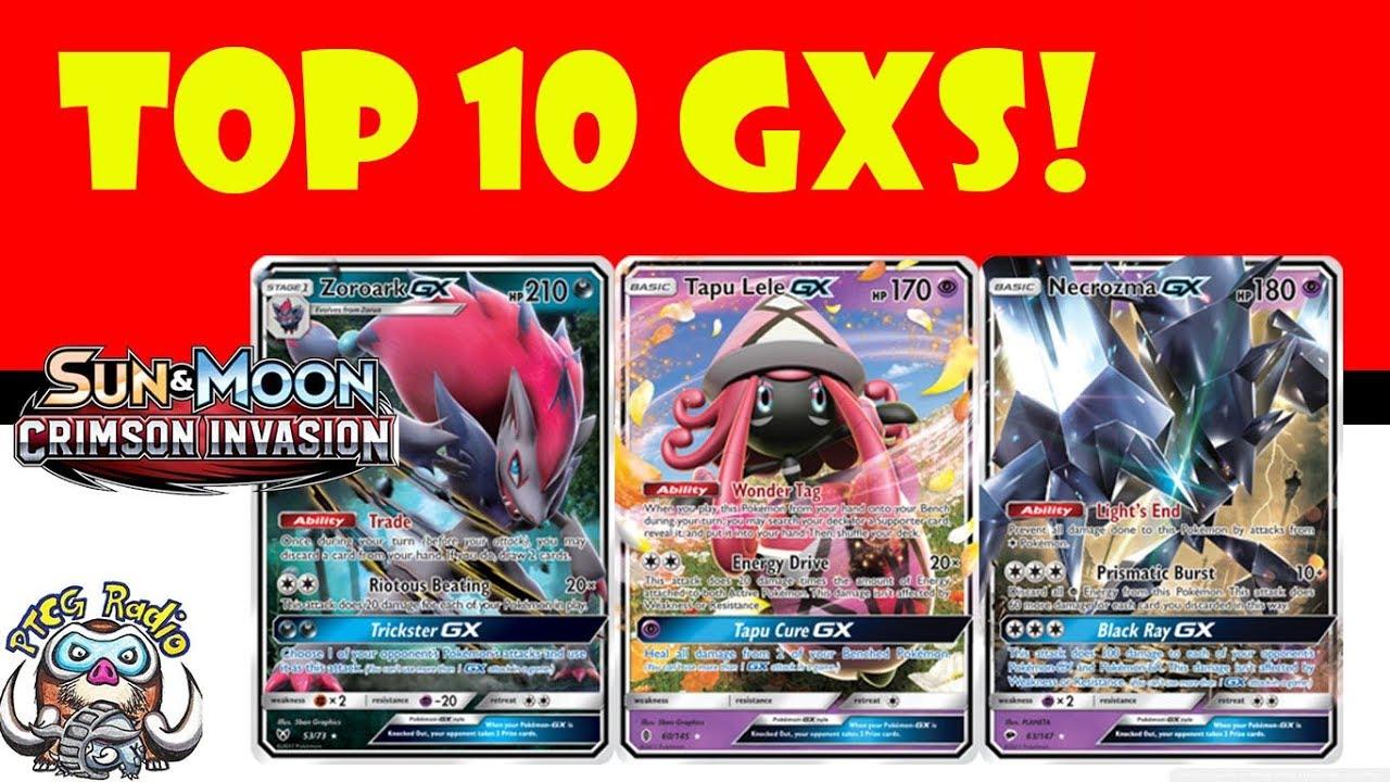Top 10 Pokémon Gx Cards