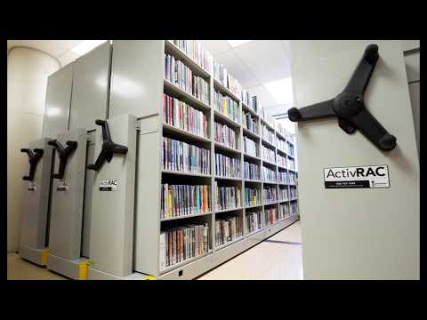 Mobile High Density Shelving Storage Systems Save Floorspace