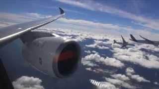 Airbus A350 XWB Пилотирование 5 самолетов в воздухе. Полное видео.