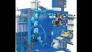 Triangle bag / pyramid bag Packaging Machine made in china for chocolate at customer factory
