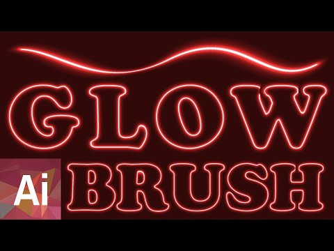Glowing Pattern Brush - Adobe Illustrator Tutorial thumbnail
