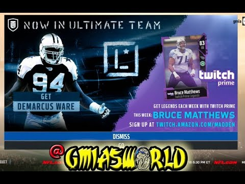 HOW TO UNLOCK A FREE LEGEND DEMARCUS WARE & MAKE COINS! | Madden 18 Ultimate Team Tips & Tricks