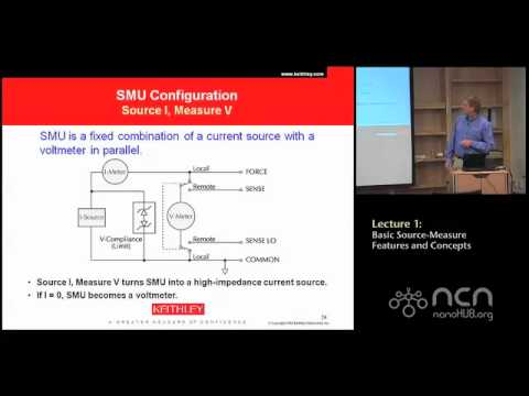 Keithley 4200-SCS Lecture 1: Introduction - System Overview - DC I-V Source Measurement