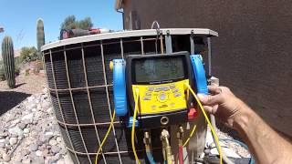 Old condenser fan spinning backwards