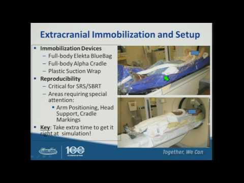 SRS/SBRT - Imaging, Immobilization. Motion Management - By C