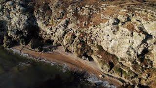 Sea And Rocks Stock Video