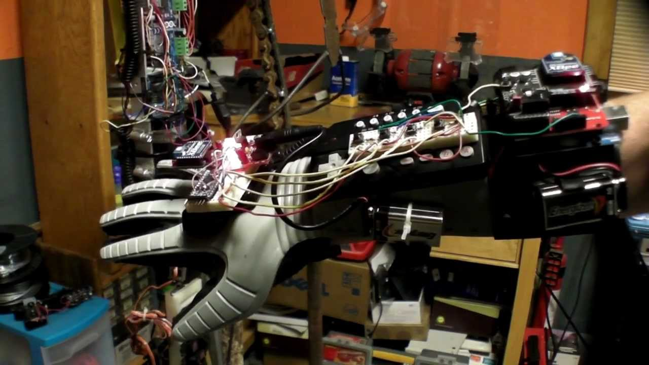 Arduino robotic arm ball toss youtube