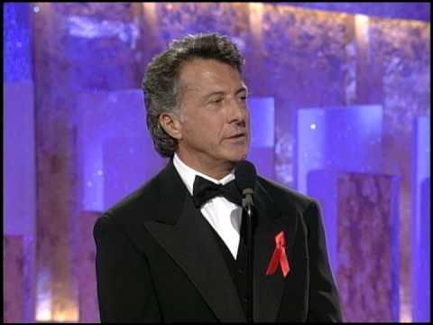 Golden Globes 1997 Dustin Hoffman Wins Cecil B Demille Award