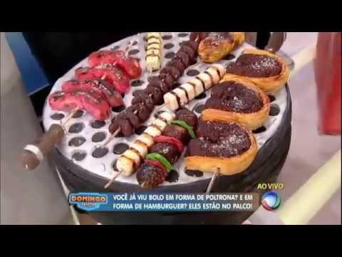 Rei do bolo brasileiro faz bolo em tamanho real no formato do anão Marquinhos
