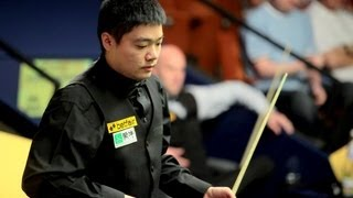 Ding Junhui vs Mark King last session World Snooker Championship 2013 finals