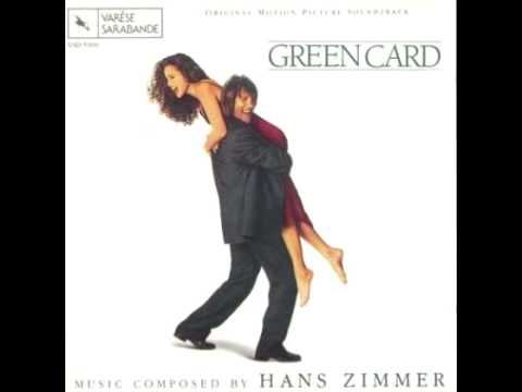 Song from Ending of Green Card (1990)