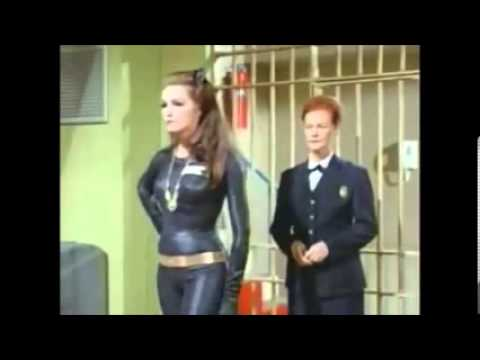 How Bruce (Adam West) really feels about Catwoman (Julie Newmar)
